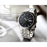 天王表时尚男士手表钢带石英手表男表GS3611