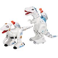 恐龙机器人玩具电动遥控喷雾仿真动物男孩儿童玩具