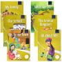 英文原版绘本Oxford Dragonfly Readers Level 1 Yellow 牛津蜻蜓系列分级阅读6册 儿童启蒙图画故事书18个故事7-8-9-10岁课外读物