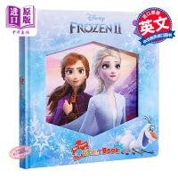 【中商原版】迪士尼拼图故事:冰雪奇缘2 Disney Frozen 2 益智游戏书 玩具书 亲子绘本 拼图 冰雪奇缘 4
