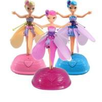 梦幻美丽飞仙女 自动感应飞天小仙女 芭比娃娃公主儿童玩具 儿童节礼物