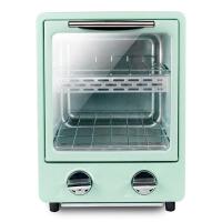 家用立式迷你小型双层电烤箱多功能烘焙蛋糕面包披萨小烤箱