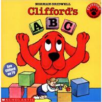 英文原版Clifford'S Abc大红狗的ABC