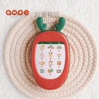 【领券立减】儿童手机玩具 一岁宝宝早教音乐可咬仿真电话六一节礼物 【正红】触屏声乐手机 充电款带充电线