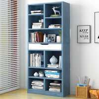 书架柜子置物架简易落地小书柜家用学生经济型客厅简约收纳储物架