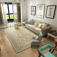 欧式地毯客厅沙发茶几垫卧室满铺床边土耳其简约现代田园美式家用