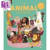 【中商原版】动物殊荣 Animal Awards 亲子绘本 精品绘本 儿童科普 精装 7~9岁 英文原版