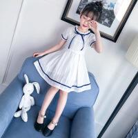 女童夏季短袖连衣裙2018新款韩版儿童夏装裙子女大童洋气公主裙潮