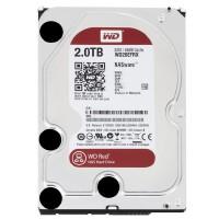 WD/西部数据 红盘 2TB SATA3 64M 3.5英寸台式机硬盘 NAS企业硬盘 WD20EFRX