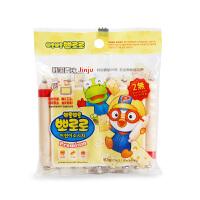 进口零食 韩国宝噜噜进口零食辅奶酪鳕鱼肠90g 婴幼儿奶酪鳕鱼肠