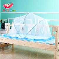 婴儿床蚊帐罩宝宝蚊帐婴儿蚊帐蒙古包无底蚊罩可折叠通用BB