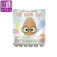 【中商原版】一个好鸡蛋 Jory John & Pete Oswald 精装绘本 The Good Egg