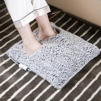 插电暖脚宝电热垫加热坐垫 可拆洗暖脚垫电暖鞋办公室暖脚器