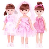 儿童会说话的娃娃智能对话女孩公主洋娃娃仿真套装玩具单个超大布