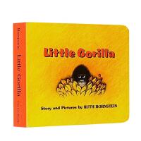 英文原版绘本小猩猩Little Gorilla 纸板书 入门启蒙 汪培�E一阶段儿童启蒙学习亲子互动图画故事书Ruth