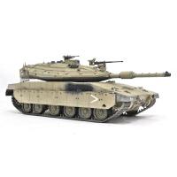 拼装坦克模型 仿真军事战车1/35以色列梅卡瓦MK4型主战坦克(需要自己拼装)