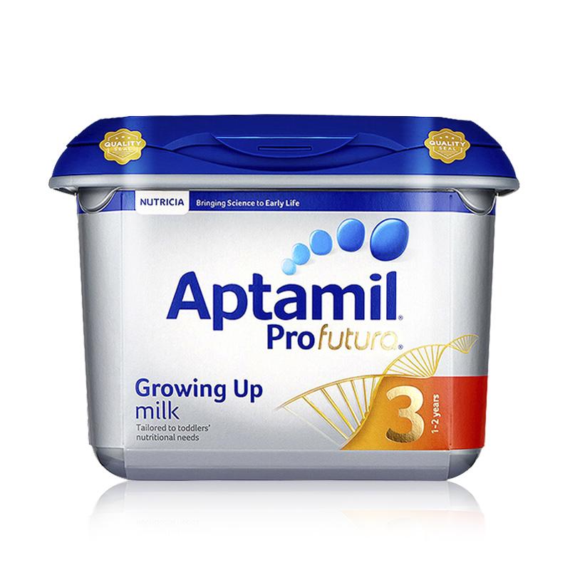 Aptamil 英国 原装进口 爱他美 白金版婴幼儿奶粉 3段 1岁以上 800g 2罐装 保税仓发货正品保障 优质奶源