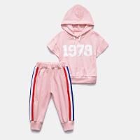 女童运动套装夏装新款中大童儿童夏季洋气休闲女孩
