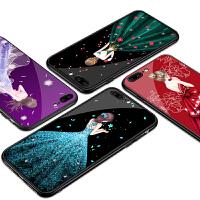 iPhone8手机壳玻璃苹果7Plus女款iPhone7硅胶8P套