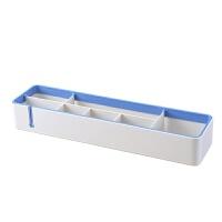 创意塑料分隔桌面收纳架多功能办公用品整理置物架杂物收纳盒