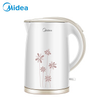 Midea/美的 MK-H517E2电热水壶保温防烫不锈钢烧水壶自动断电热