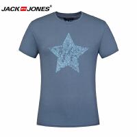 杰克琼斯/JackJones时尚百搭新款T恤 深海之星--4-2-5-2*201059036