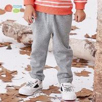 【2件3折到手价:41.5】贝贝怡男童秋冬裤子新款宝宝加绒保暖可爱卡通帅气外出长裤193K491