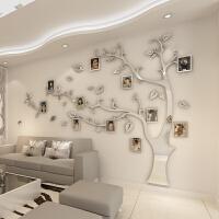 镜面相框树立体墙贴创意3D水晶亚克力客厅电视背景墙贴画墙面装饰 超