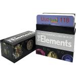 英文原版 Photographic Card Deck of The Elements 126张闪卡卡片 118个化学