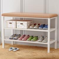 索尔诺换鞋凳鞋架 鞋柜多功能门厅玄关柜 家用穿鞋储物凳收纳简约矮凳子681