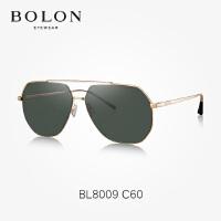 BOLON暴龙太阳镜男复古蛤蟆镜个性金属框墨镜潮流开车眼镜BL8009
