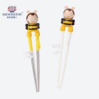 学习练习筷家用勺子叉男孩小孩餐具套装婴儿幼儿童筷子训练筷宝宝