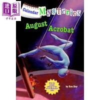 【中商原版】月份的秘密:8月的杂技员 Calendar Mysteries #8:August Acrobat A to