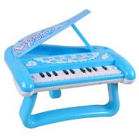 儿童电子琴玩具小钢琴带灯光女孩宝宝小孩