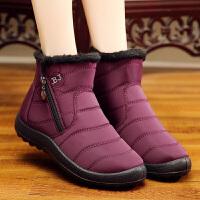 老北京布鞋女冬季棉鞋保暖加绒妈妈棉鞋加厚高帮防滑中老年人棉鞋