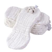 宝宝尿布棉可洗全棉戒子尿片花生型透气婴儿介子布纱布