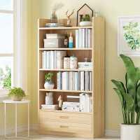 ��架置物架��木��s落地�易家用桌面收�{��柜桌上多��和��L本架