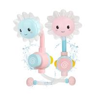 婴儿男孩女孩向日葵花洒喷水戏水转转乐玩具儿童宝宝洗澡玩具
