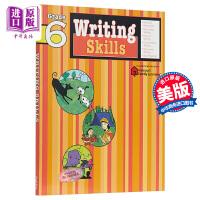 【中商原版】FLASHKIDS写作技巧:6年级 Writing Skills: Grade 6 小学教辅教材工具书 写作
