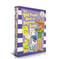 英文原版童书绘本The Big Purple Book of Beginner Books 6故事