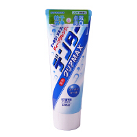 狮王(lion)牙膏DENTOR CLEAR MAX 粒子洁净立式牙膏 劲凉 140g