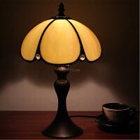 地中海客厅床头灯简约现代书房灯饰欧式卧室小台灯