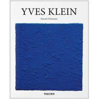 伊夫 克莱因 Yves Klein 艺术作品集 现实主义推动者 波普艺术 绘画 艺术画册 英文原版 taschen 艺术图书籍