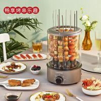 【�Y品卡可用】利仁(Liven)KL-J121���烤�t烤串�C家用自�有��D室�刃⌒��烤杯定�r控��