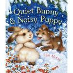 【预订】Quiet Bunny & Noisy Puppy