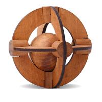 孔明锁 星球 古典儿童玩具解锁木制玩具