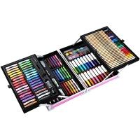 儿童可水洗绘画美术水彩笔套装礼盒全套幼儿园宝宝用蜡笔画画工具组合生日礼物