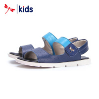 红蜻蜓童鞋男童中大童沙滩韩版时尚百搭儿童凉鞋