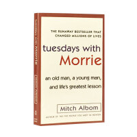 英文原版 Tuesdays with Morrie相约星期二 余秋雨倾情推荐Mitch Albom 外国当代文学米奇阿