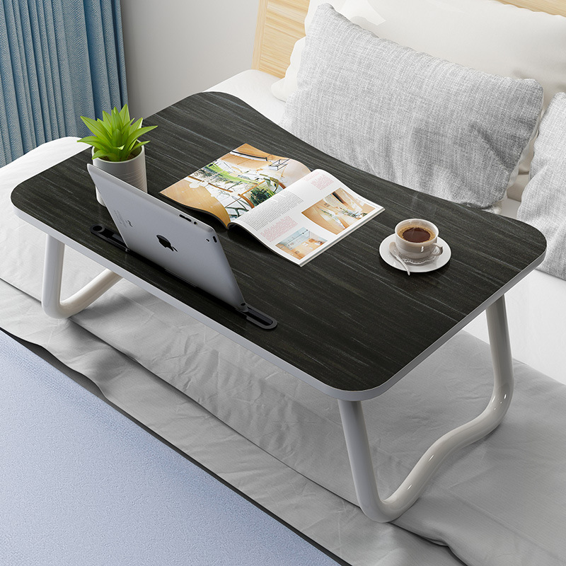 【领券到手价19.8元】笔记本电脑桌床上可折叠小桌子床上书桌懒人桌宿舍桌子寝室书桌 免安装 展开即用
